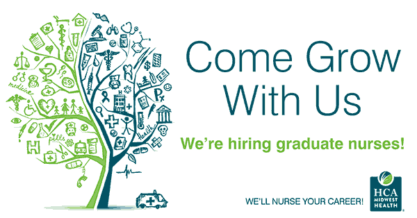 HCA Midwest Health is hiring nurses